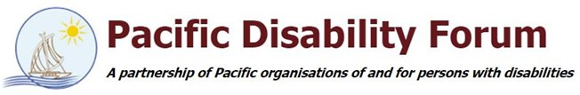 Pacific Disability Forum logo