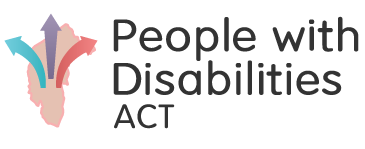 People with Disabilities ACT (PWD ACT) logo