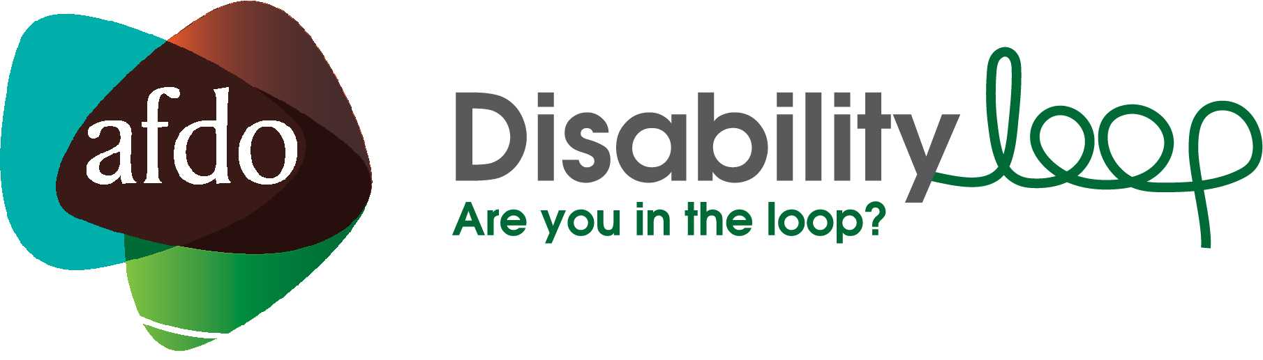 AFDO Disability Loop Logo