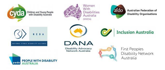 8 organisation logos